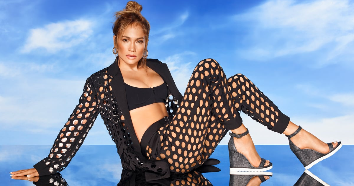 Only Jennifer Lopez Can Wear a See-Through, Netted Suit Like a Total Boss