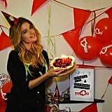 Doutzen Kroes celebrated her 29th birthday. Source: Instagram user doutzen