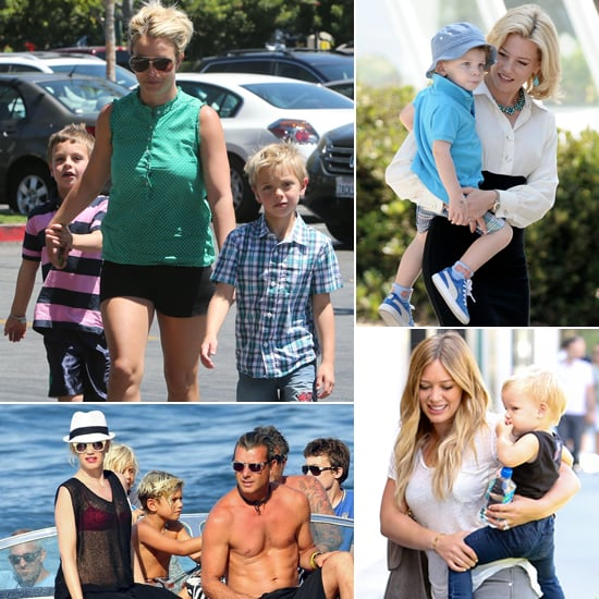 Celebrity Family Pictures Week of Aug. 19, 2013