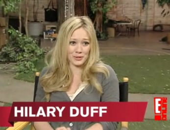 Hilary Duff Disses Faye Dunaway — Totally Inappropriate or kinda understandable?