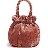 Staud Grace Velvet Clutch Bag ($303)