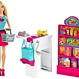 Barbie Malibu Ave Grocery Store with Doll Play Set
