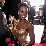 When Lupita Nyong'o Looked Like a Goddess on the Red Carpet
