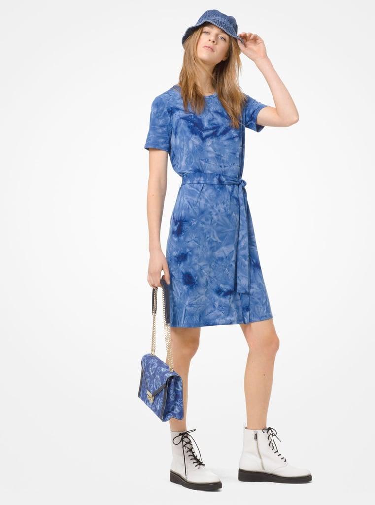 Michael Michael Kors Tie-Dye T-Shirt Dress