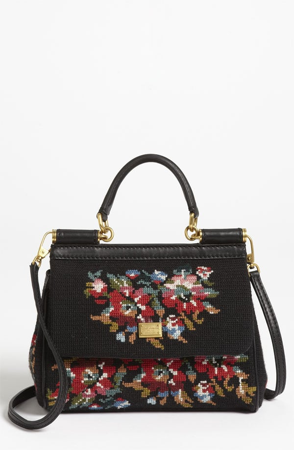 This Dolce & Gabbana Miss Sicily Needlepoint Handbag ($1,795) is a splurge — but think about how hip you'll look carrying it 30 years from now!