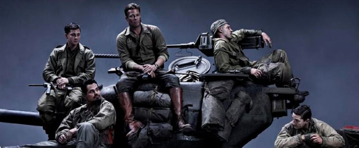 The Brad Pitt-WWII Drama Fury Looks Violent, Emotional, and Really Good