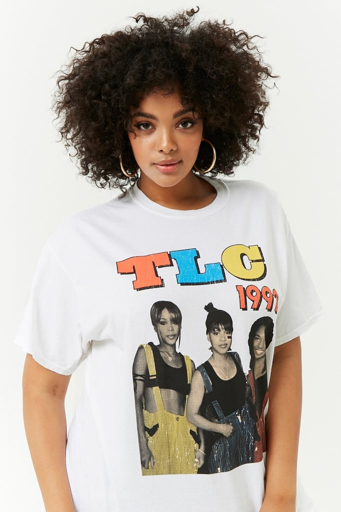 Forever 21 Plus Size Tlc Graphic Tee Kylie Jenner Backstreet Boys