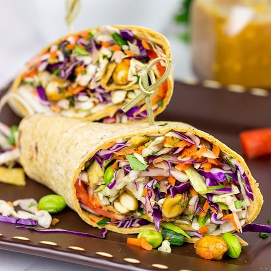 Vegetarian Wrap Filling Ideas and Recipes