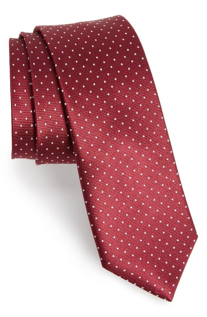 The Tie Bar Dot Silk Tie