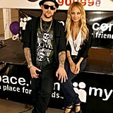 Nicole Richie and Joel Madden raised funds in LA for their foundation in September 2008.