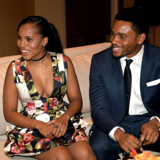 Kerry Washington and Husband at Charity Gala December 2016