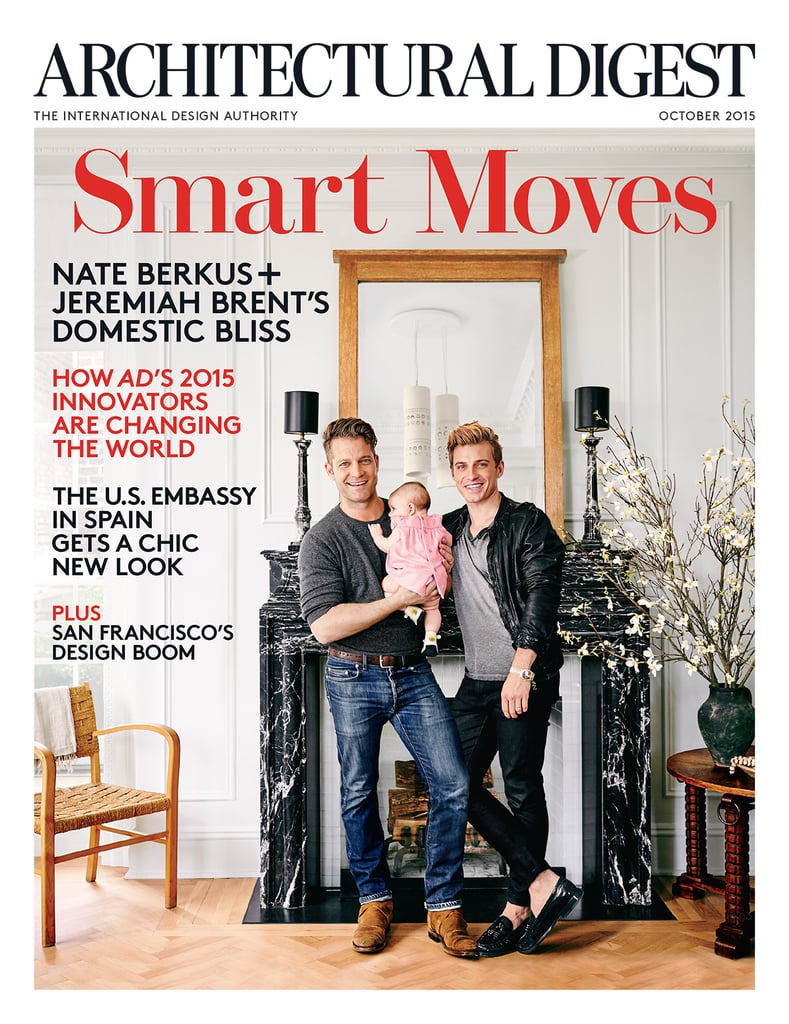 nate berkus and jeremiah brent introduce daughter poppy | popsugar