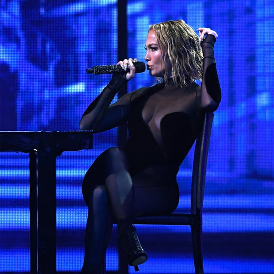 Jennifer Lopez's LaQuan Smith Bodysuit at the AMAs