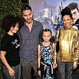 Ripley and Nico joined their parents on the red carpet at the opening of The Wizarding World of Harry Potter at Universal Studios in April 2016.