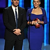 David Boreanaz and Busy Philipps