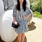 Lily Collins checked out Mulberry's party in 2012.