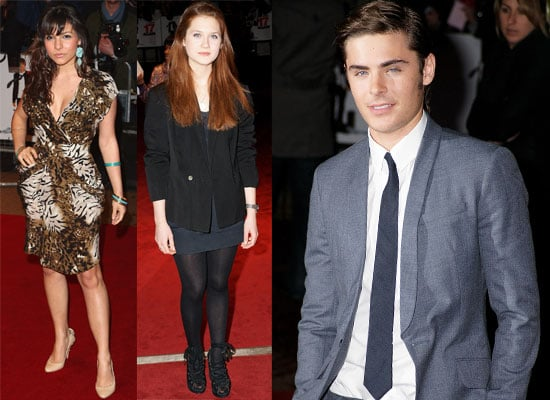Photos Of Zac Efron, Bonnie Wright At The 17 Again UK Premiere In London