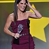 Sandra Bullock Beamed at the Critics' Choice Awards