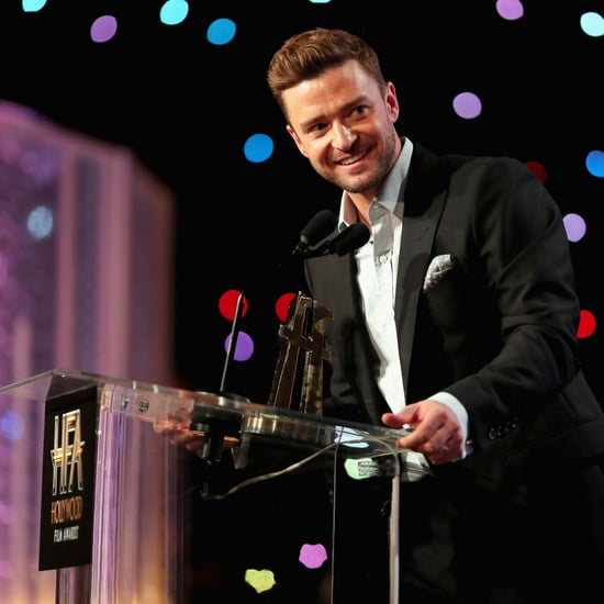 Justin Timberlake at Hollywood Film Awards 2016
