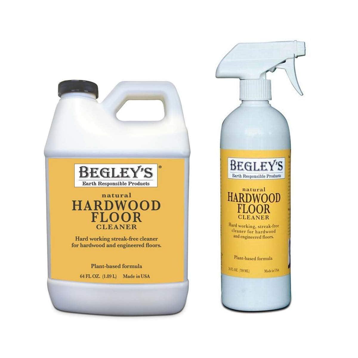 Begley S Best Earth Responsible Natural Plant Based Hardwood Floor