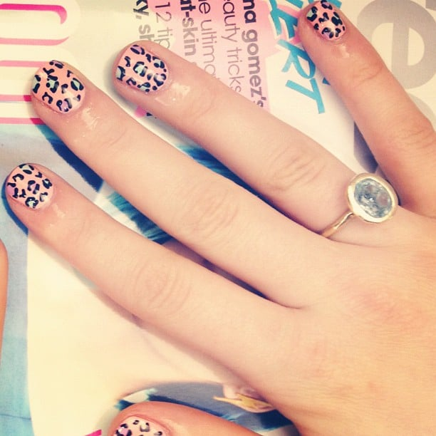 Inside Teen Vogue Nail Art Mani Sessions This Weeks Best