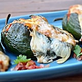 Stuffed Poblano Peppers With Chorizo
