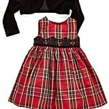 Pippa & Julie Sleeveless Tartan Dress & Jacket