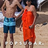 Diana Ross on the Beach in Hawaii Pictures January 2018