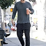 Orlando Bloom Squeezes In a Juice Run Following the Gym