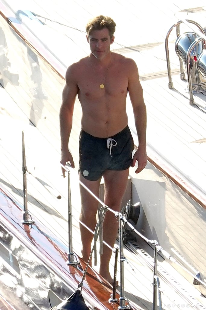 ≈ giovanni medici Chris-Pine-Shirtless-Italy-Pictures-August-2018