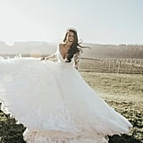 Mariel and Paul got married at the Childress Vineyards in Lexington, NC. Mariel is an NFL cheerleader turned model who made her television debut in the show Racing Wives in 2019, while Paul is a jackman for NASCAR driver Austin Dillon. See the wedding here!