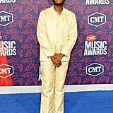 Leon Bridges at the 2019 CMT Awards