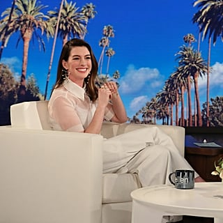 Anne Hathaway Talking About Drinking on Ellen Jan. 2019