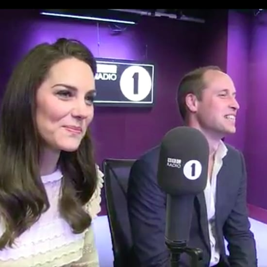 Prince William and Kate Middleton on Radio 1 Scott Mills