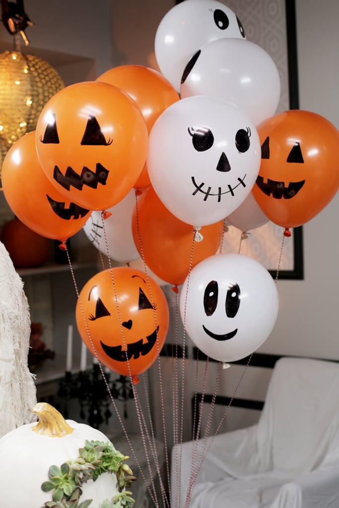 Dress Up Balloons Diy Halloween Party Popsugar Home