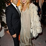 Francisco Costa and Rachel Zoe strike a pose.