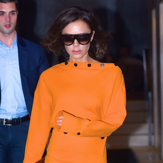 Victoria Beckham's Colorful Outfits