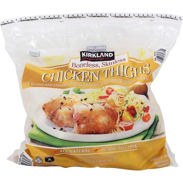 Popsugar Food Photo 14: Kirkland Signature Boneless Skinless Chicken Thighs ($14