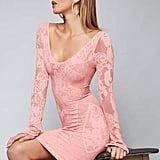 Bebe Floral Bodycon Dress