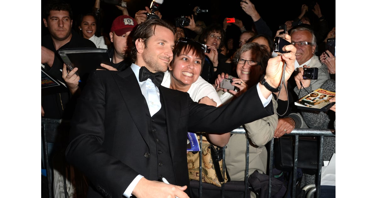 Even Fans Couldn 39 T Get Enough Of Bradley Cooper At The