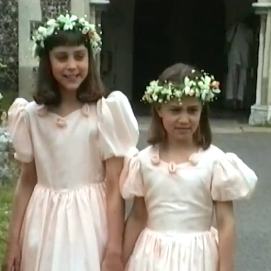 Kate and Pippa Middleton Bridesmaids at '90s Wedding Video