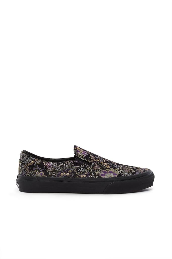 Qi Pao II OG Classic Slip-On LX Sneaker in Black ($85)