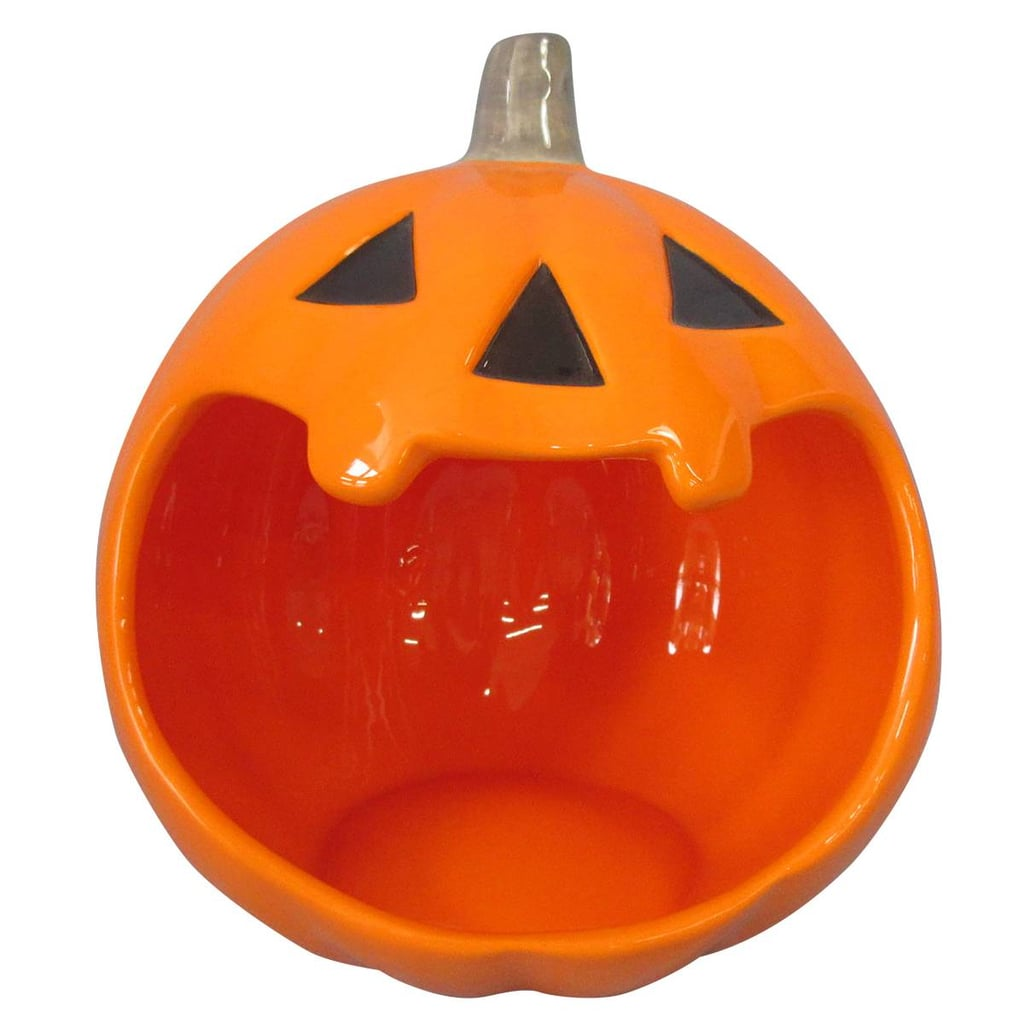 Hyde and Eek! Boutique Halloween Ceramic Pumpkin Candy Bowl ...