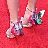 Taylor Swift's Butterfly Shoes at iHeartRadio Music Awards