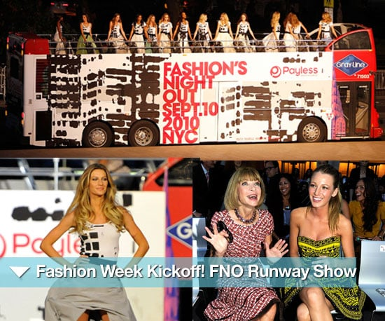 Pictures of Fashion's Night Out Runway Show