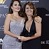 Penélope and Mónica attended the premiere of La Reina de España together in 2016.