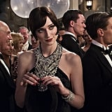 Elizabeth Debicki as Jordan Baker in The Great Gatsby.