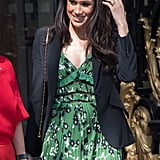 April: Meghan made us green with envy at the Invictus Games Reception in London.