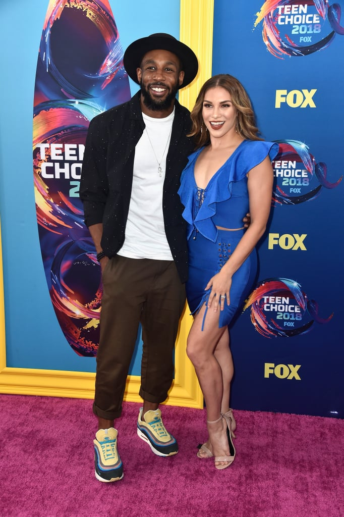 "Stephen ""tWitch"" Boss and Allison Holker"