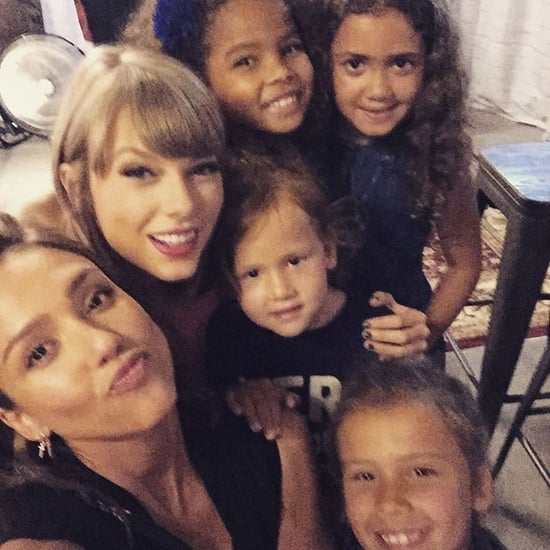 Taylor Swift Forms the Sweetest Squad With Jessica Alba's Adorable Daughters